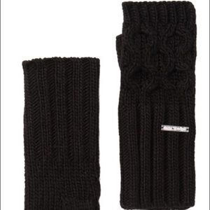 Michael Michael Kors Cable Knit Fingerless Gloves
